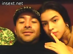 latin dad daughter and a cam