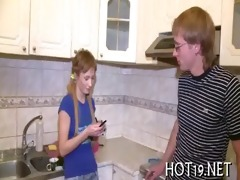 legal age teenager deep mouth fellatio