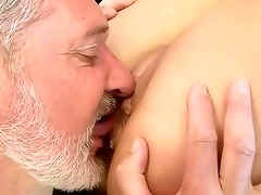 old lad fucks sexy juvenile girl
