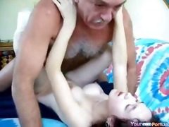 older man creampies a bitch