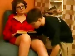 mother seduce young son
