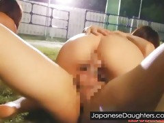 golden-haired japanese japanese daughter anal