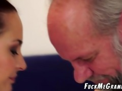 old unshaved perv bonks younger gf