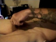 hottest dirty talkin daddy discharges his load