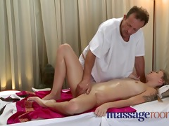 massage rooms shy virgin cuties have first time