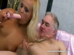juvenile slut pleases her sugardaddy with her