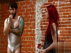 bigboobs daughter striptease