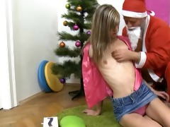 blonde teen angel with very petite tits acquires