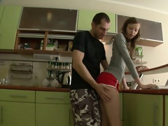 fellow desires anal sex in the tight ass of her