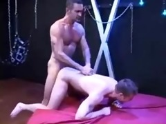 hung daddy lito raw fucks and fists younger cum