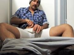 daddy felt so nice after he cum his huge load