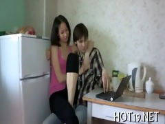 legal age teenager deep throat oral job
