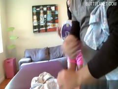 breasty daughter sperm gulp