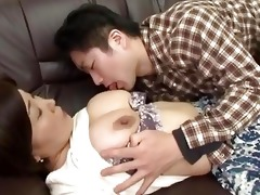 drunk japanese mother gets humiliate by her lad