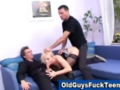 old guys fuck hot younger honey