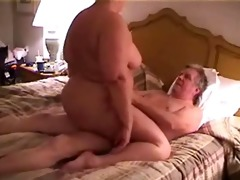 big beautiful woman rides oldman 3