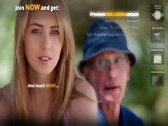 oldmen double permeates a nasty nurse