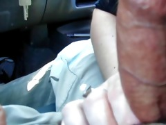my sister sucking my cock in the car.