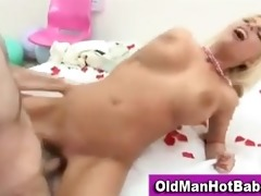 old boy fucks sexy younger hottie
