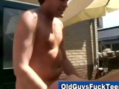 old guys sexy younger babe
