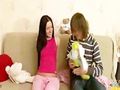 petite skinny legal age teenager sister tina