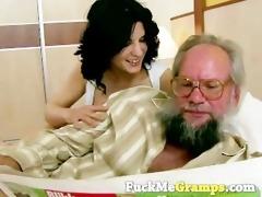grandpa has a new girl