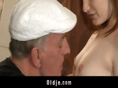 concupiscent oldmen bangs hard two young harlots