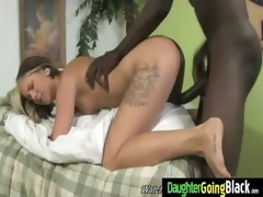 young daughter with nice ass screwed by a black