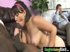 his teen daughter is curious about a big darksome