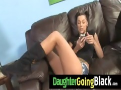 watch how my daughter is fucked by a black dude 12