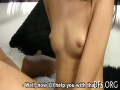taut pussy stretched wide