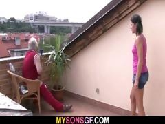 lewd dad bangs his son&#039 s gf