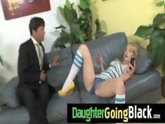 hot daughter cock engulf and interracial fuck 21