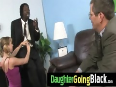my daughter takes a real black schlong 8