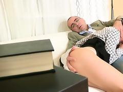 wild pleasuring for old teacher