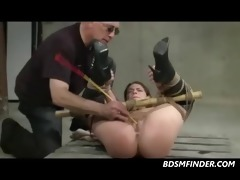 old and juvenile daughter gets dominated