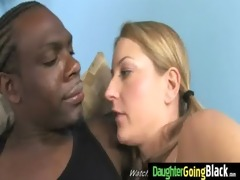 youthful daughter acquires pounded by large black