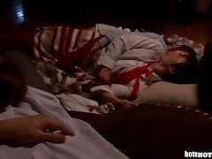 japanese girls fucking hot mother in bed room.avi