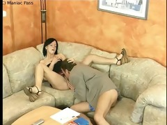 chick fucked into ass by euro grand-dad